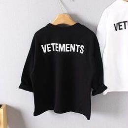 ヴェトモンstaffロンT☆kids