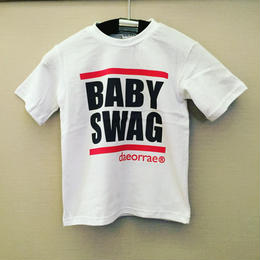 BABY SWAGロゴTシャツ☆kids