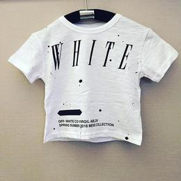 オフホワイトkidsTシャツsize100~130