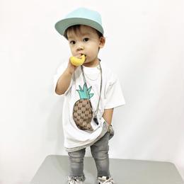 パイナップルTシャツ☆kids