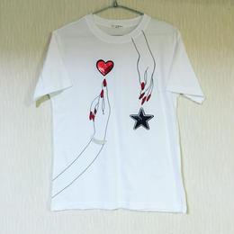 ハンドペイントTシャツ☆ladies