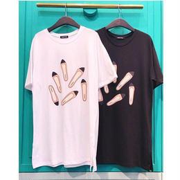 パンプス柄Tシャツ