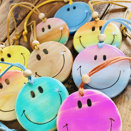 Smile wood resin