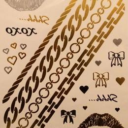 flash tattoo Kiss