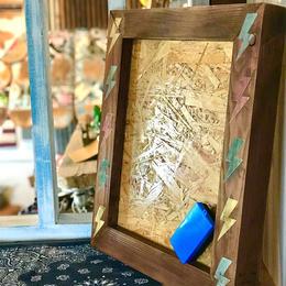 wood message board