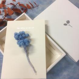 【ハンドメイドレターセット】イモーテル BLUE(P)