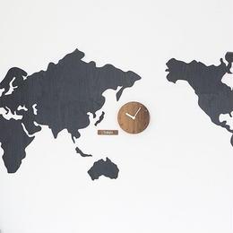 【ハンドメイド】WORLD TIME MONO ブラック