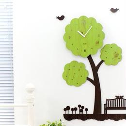 【ハンドメイド】ウォールクロック - TREE