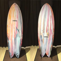 【THOMAS SURF BOARD】FISH 5'11""