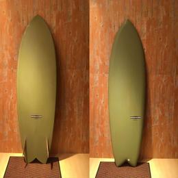"【YU SURF CLASSIC】 ROCKET FISH 7'0"" R,Uシェイプ"