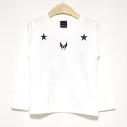 Numbering L/S Tee/ナンバリング長袖カットソー/WHITE