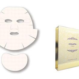 コラピア プレミアムフェイス&ネックマスク 5+1枚入りBOX