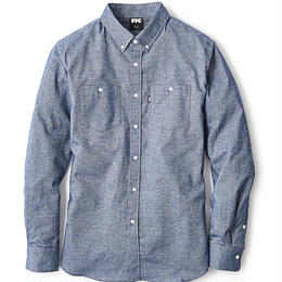 "FTC ""CHAMBRAY NEL B.D SHIRT"""