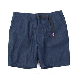"THE NORTH FACE PURPLE LABEL ""Indigo Chambray Mountain Field Shorts"""