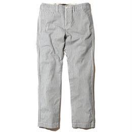"""BackChannel """"CHINO PANTS"""" STRIPE (WHITE) /M"""