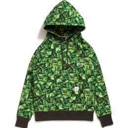 "APPLEBUM × CHOP ROLL SLOW BURN ""Pixel"" Sweat Parka"