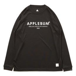 "APPLEBUM ""Elite Performance Dry L/S T-shirt "" [Black]"