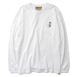 "INTERBREED ""P WING BEAR EMBROIDERED LS TEE"""