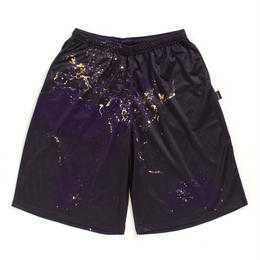 "APPLEBUM ""Night Earth"" Basketball Mesh Shorts"