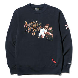 "BackChannel ""BACK CHANNEL×UP IN SMOKE CREW NECK"""