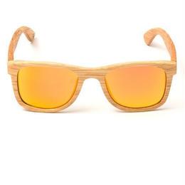 Wood Mirror Sunglass
