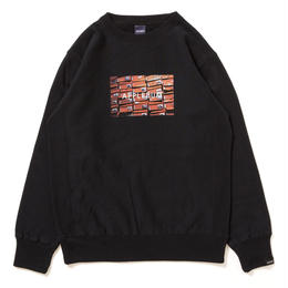 "APPLEBUM ""Orange Box"" Crew Sweat [Black]"