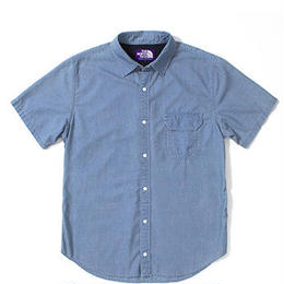 "THE NORTH FACE PURPLE LABEL ""COOLMAX® Chambray H/S Shirt"""