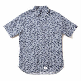 Paisley Fly Front SS Shirt