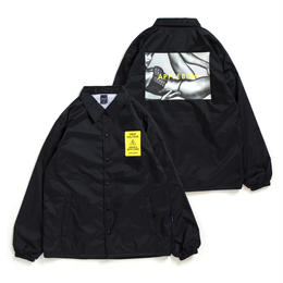 """Woman"" Coach Jacket [Black]"