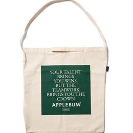 """APPLEBUM """"TEAMWORK"""" Shoulder Bag"""