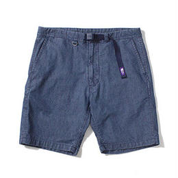 "THE NORTH FACE PURPLE LABEL ""Indigo Chambray Mountain Shorts"""