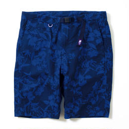 "THE NORTH FACE PURPLE LABEL ""ALOHA PRINT WEBBING BELT SHORTS"""
