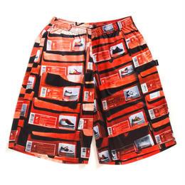 """APPLEBUM """"Orange Kicks Box"""" Basketball Mesh Shorts"""