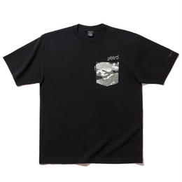 "BackChannel ""BACK CHANNEL × PRILLMAL TOKER CAMO POCKET T"""