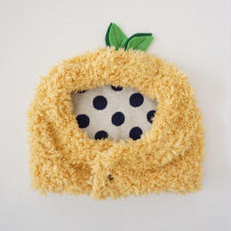 ブヒの実フーディーキャップ/パンプキン        *フレブル服TiTiTi