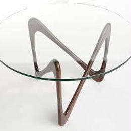 Moebius Glass top Table