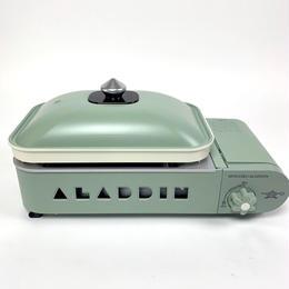 Sengoku Aladdin/ポータブルガスホットプレート プチパン 限定カラー(Green)