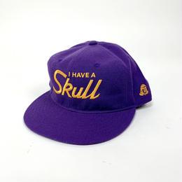 TACOMA FUJI RECORDS/I HAVE A SKULL cap designed by Hiroshi Iguchi