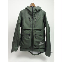 and wander/dropping pocket rain jacket