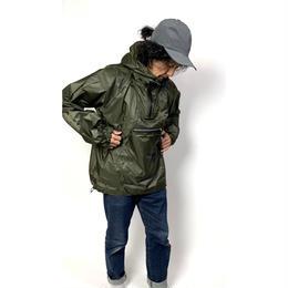and wander/Fly rain anorak hoodie
