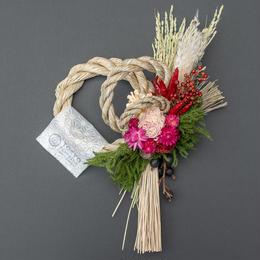 【販売終了】Tida Flowerのしめ縄リース・ウェブストアモデル2018