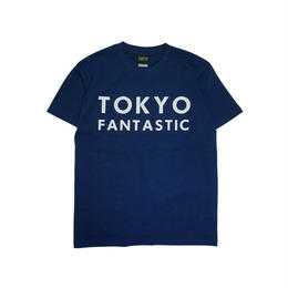 TOKYO FANTASTIC ブランドロゴ Tシャツ インディゴブルー(紺)