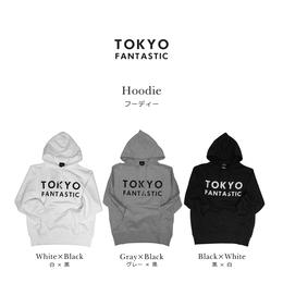 TOKYO FANTASTIC ブランドロゴ フーディー
