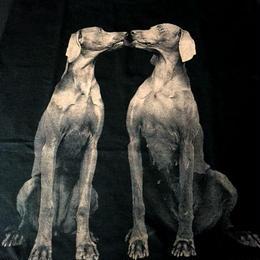90's William Wegman Weimaraner 犬 半袖 Tシャツ