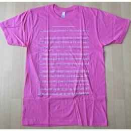 USA製 Bjork MoMA ビョーク 回顧展 楽譜 Tシャツ