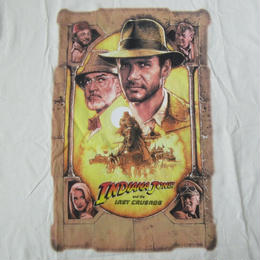90's USA製 インディ・ジョーンズ 最後の聖戦 TシャツM Indiana Jones and the Last Crusade Harrison Ford ハリソン フォード【deg】
