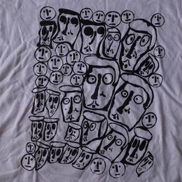 Donald Baechler CROWD Tシャツ M ドナルド バチェラー