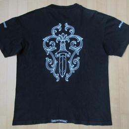 90's USA製 Chrome Hearts Maxfield Los Angeles コラボ Dagger ポケット Tシャツ L黒 クロムハーツ マックスフィールド