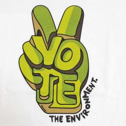 """""""PATAGONIA 日本未発売・Alex Trochutデザイン・M's Vote The Environment Alex Troc・Tシャツ サイズ・M 正規品  -914"""