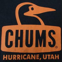 CHUMS ブービーバード ロゴ Tシャツ XS ネイビー チャムス 山ガール カツオ鳥 カツオドリ アウトドア キャンプ ハイキング